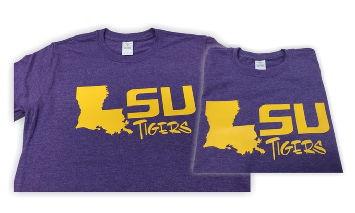 LSU Tigers College T-Shirt S-XXL (Men and Women Styles)