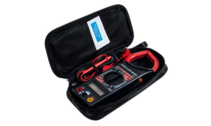 Digital Clamp Electronic Volt Amp Meter Kit