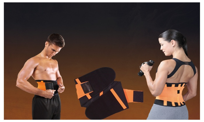 be2a52d153856 Xtreme Orange Power Belt Shapers Tecnomed Support Hot Gym Workout