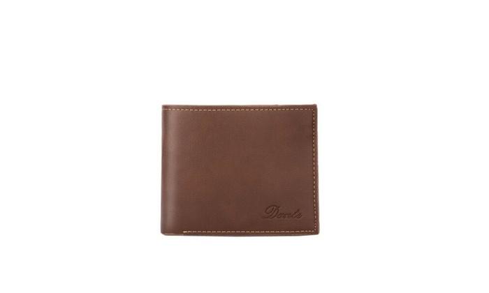 Men's Card Holder PU Leather Short Wallet