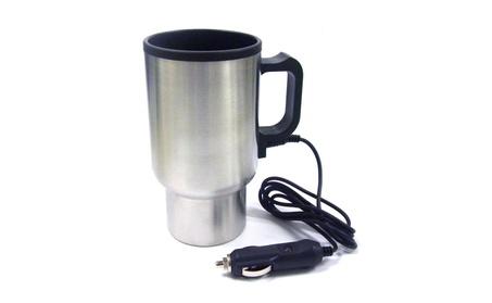 Coffee Travel Mug Stainless Steel w/ Car Lighter Plug ef50c843-af34-4b80-9fc8-e1ad371628c3