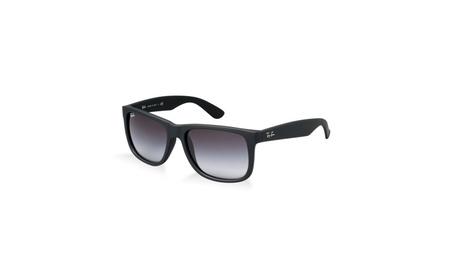 Ray Ban Justin RB4165 Unisex Black Frame Grey Gradient Sunglasses 32a0411e-b0e7-44c9-a672-a195a37c38fa