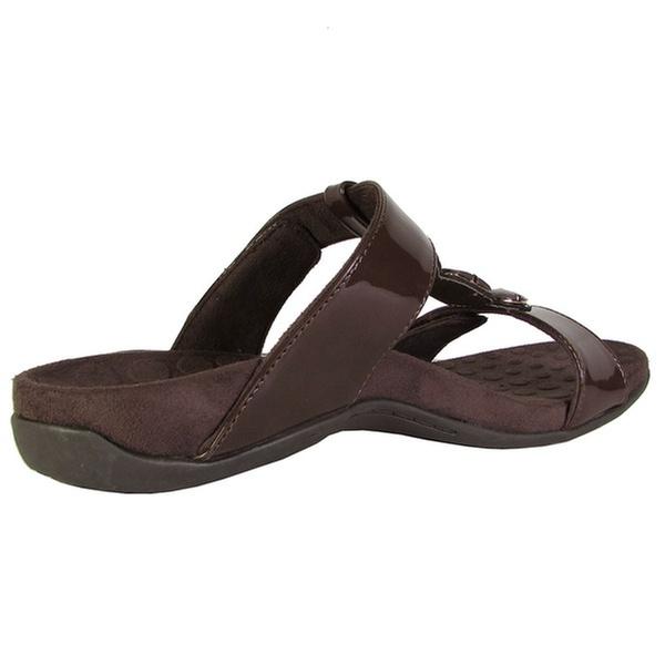 eba25022b35 Orthaheel Womens  Albany  Jeweled Slide Sandals