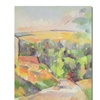 Paul Cezanne Bend in the Road Canvas Print