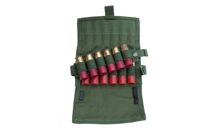 Tacprogear Olive Drab Green Shotgun Shell Pouch 18 round