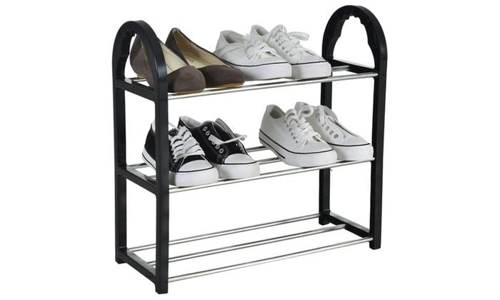 Home Ease 3 Tier Shoe Rack