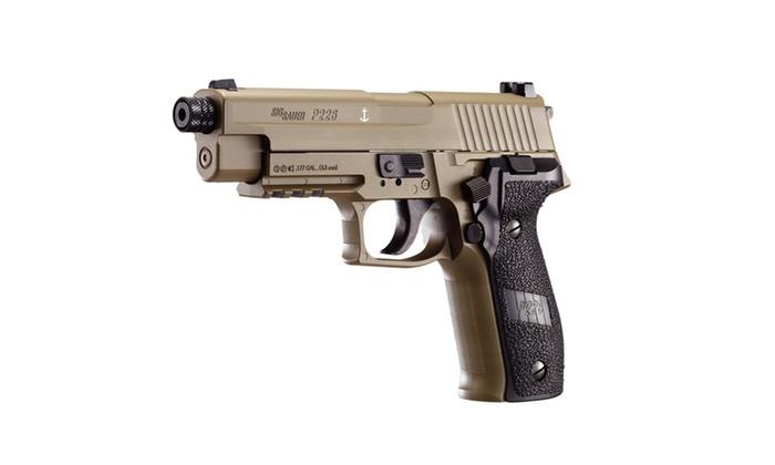 Sig Sauer P226 Air Pistol 177 Cal 12gr Co2 16 Rd Fde