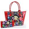 Betty Boop Rock N Roll Guitar Tote Bag Purse & Wallet Set