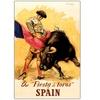 The Fiesta de Toros Spain Canvas Print