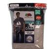 Fruit Of The Loom Mens 2Pack Tall Black-Grey Crewneck T-shirt