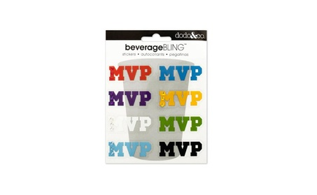 Bulk Buys Mvp Beverage Bling Stickers - Pack Of 24 78a13f63-2f41-4780-8612-a0c974898457