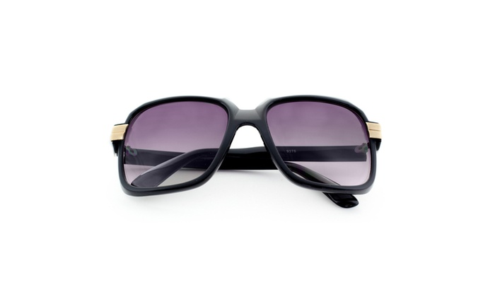 MLC EYEWEAR Retro Fashion Hiphop Legend Oversized Frame Sunglasses