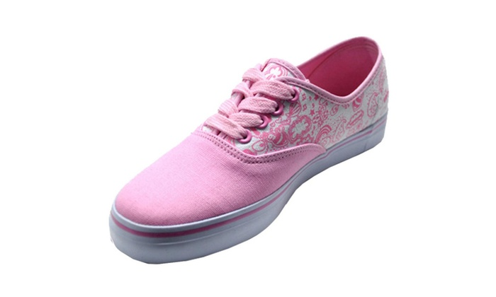 Tsunami Women's Printed Casual Canvas Shoes