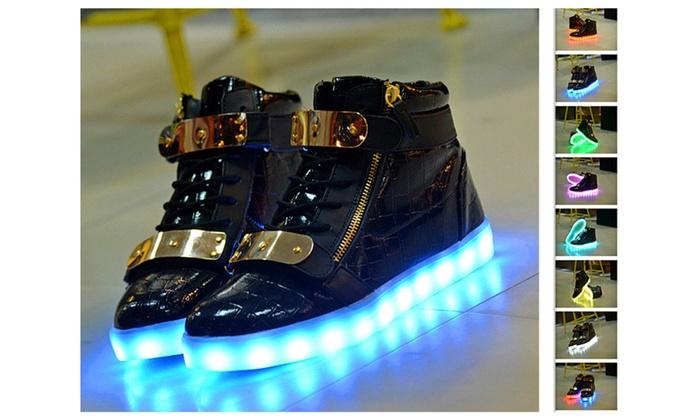 LED shoes USB rechargeable Light Led unisex sneaker