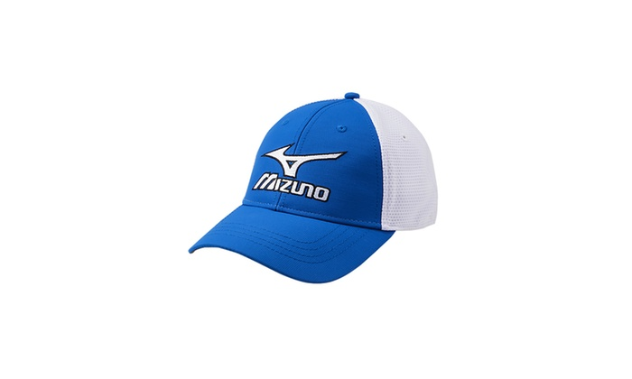 Mizuno Tour Fitted Cap/Staff/White/small/medium