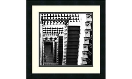 Ellen Fisch 'Architectural Detail No. 34' Framed Art Print 18x18-in 079013b2-df6c-4a79-8557-be5d04cd4914
