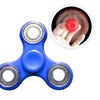 Hand Spinner Tri Spinner Fidget Stress Anxiety Reliever Toy(Copper)