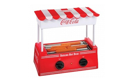 Nostalgia Products Group HDR565COKE Coca-Cola Series Hot Dog Roller a0eb0888-55b5-43dd-80f9-1b5d951caa8a