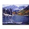 David Lloyd Glover Rocky Mountain Solitude Canvas Print