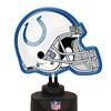 Neon Helmet Lamp-Colts