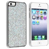 Insten Snap-on Case For Apple iPhone 5 / 5s, Silver Bling Rear