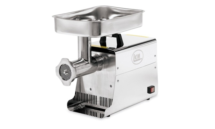 LEM 22 Lb 1 HP Stainless Steel Electric Grinder