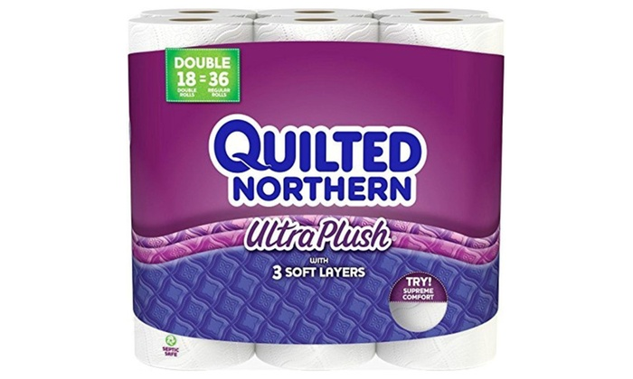 Quilted Northern Ultra Plush Toilet Paper Bath Tissue 48 Double