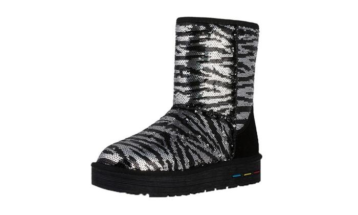 DPN Women's 2015 Classic Autumn Leather Snow Boots 6 Sizes
