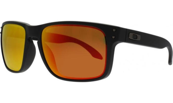 4ba9cb0a95463 Oakley Holbrook Prizm Matte Black - Sunglasses - OO9102-E255