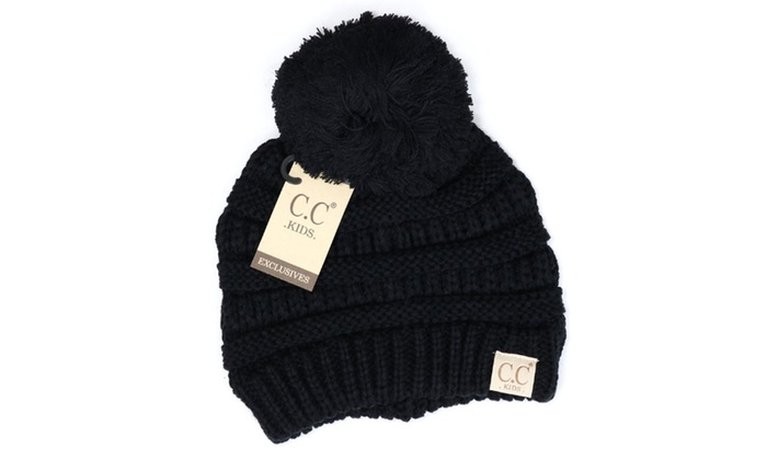 9a2ce3c0391 Up To 65% Off on CC Slouchy Beanie Faux Fur Ki...