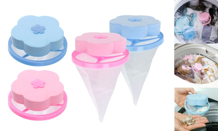 Floating Laundry Filtering Lint Pet Fur Catcher Hair Remover For Washing Machine