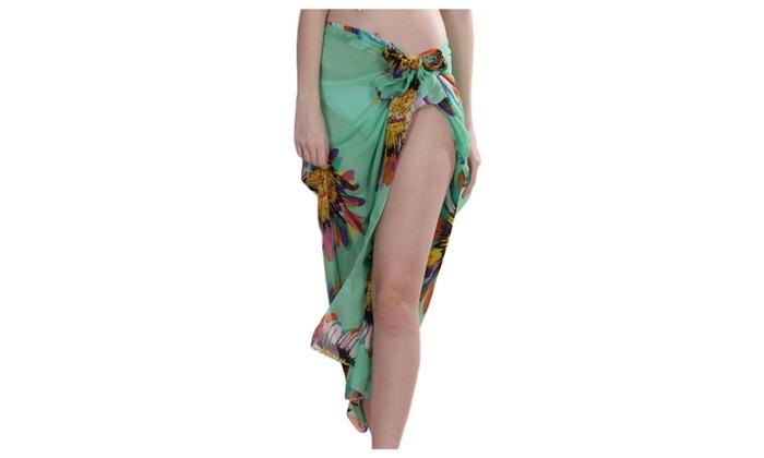 Bikini Swimwear Cover Up Daisy Sarong