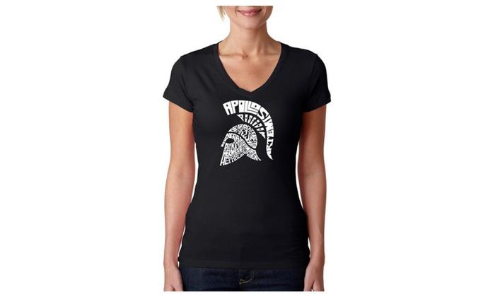 Women's V-Neck T-Shirt - SPARTAN
