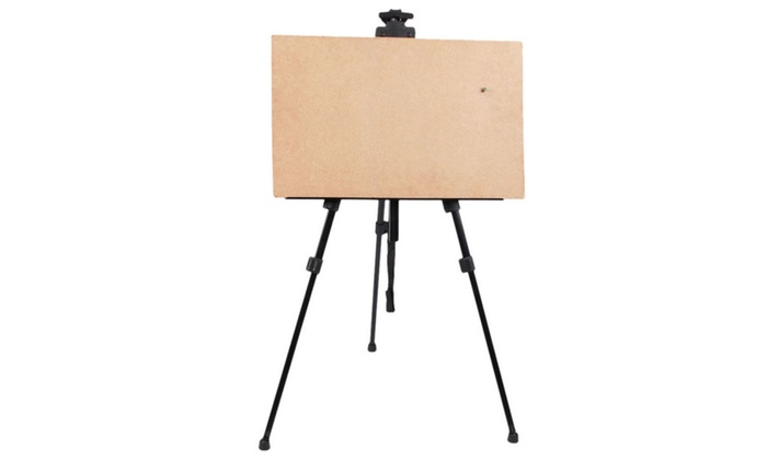 adjustable artist aluminium alloy tripod painter easel stand board