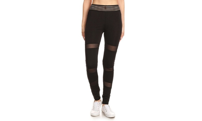 3641d6755c67cd Up To 73% Off on Women's High Waist Stretch Me... | Groupon Goods