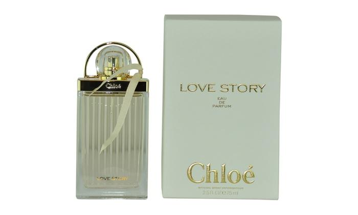 eec47642bc41 Chloe Love Story Eau De Parfum Spray 2.5 Oz