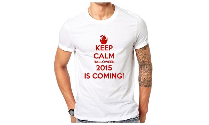 Keep Calm Halloween Is Coming T-shirt