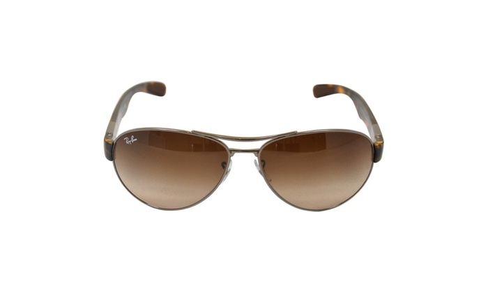 73b2024bfab Ray Ban RB 3509 004 13 Gunmetal  Brown Gradient