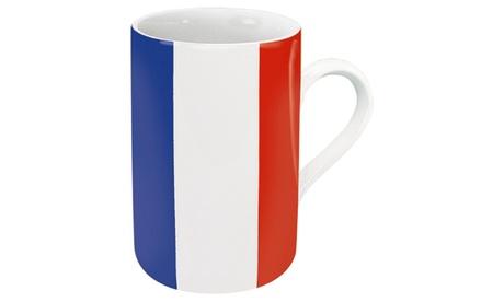 Set of 4 Flag Mugs France 67953c9d-6032-4937-a466-9f871214e20e