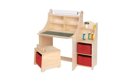 Guidecraft Kids Artist Activity Desk 47e2adb9-bb40-4c3a-bcd3-6be16f75a019