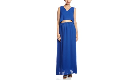 K-SWISS Jory Maxi Dress with Back Detail