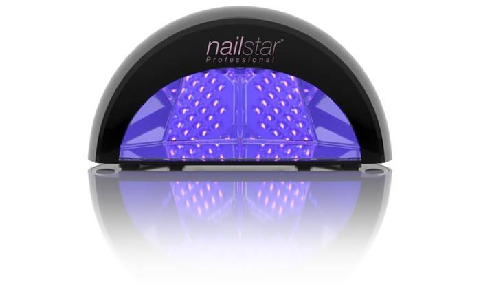 NailStar Professional LED Nail Dryer Nail Lamp for Gel Polish | Groupon