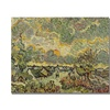 Vincent Van Gogh Autumn Landscape Canvas Print