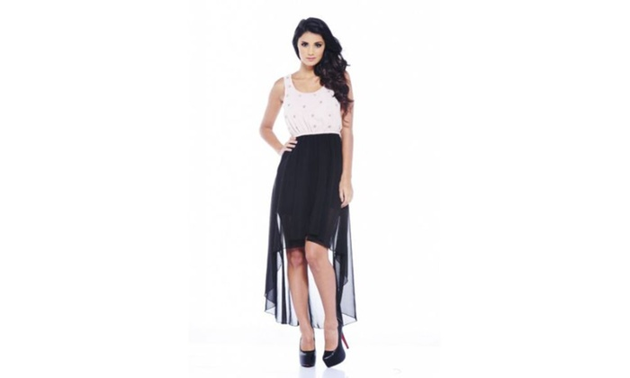 AX Paris Embellished Drop Back Dress