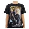 Rock&rollman Nirvana T Shirt Rock Band H361
