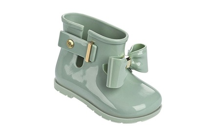 Mini Melissa Sugar Rain Bow Mary Jane Boots for Toodler e99ee229-3c9a-48c4-b532-d537f8216189
