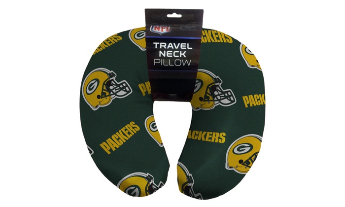 NFL 117 Packers Beaded Neck Pillow