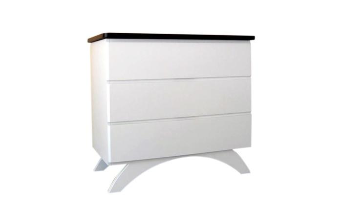 Attirant Eden Baby Furniture Madison 3 Drawer Dresser White