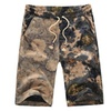 Men's Fashion Amusement Floral Printed Drawstring Board shorts