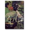 Paul Gauguin 'The White Horse 1898' Canvas Art